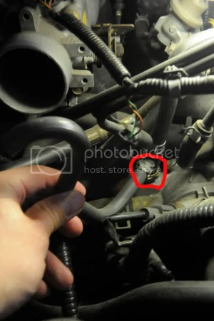 00 Civic  Where does hose for FUEL INJECTION AIR (FIA) CONTROL SYSTEM connect?  HondaTech