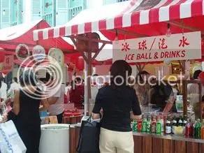 Ice Ball Stall