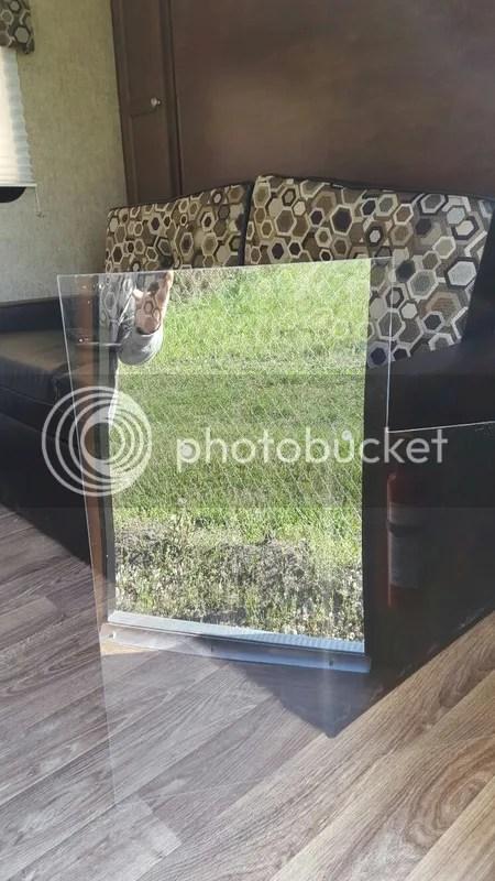 Rv Net Open Roads Forum Plexiglass Screen Door Protector