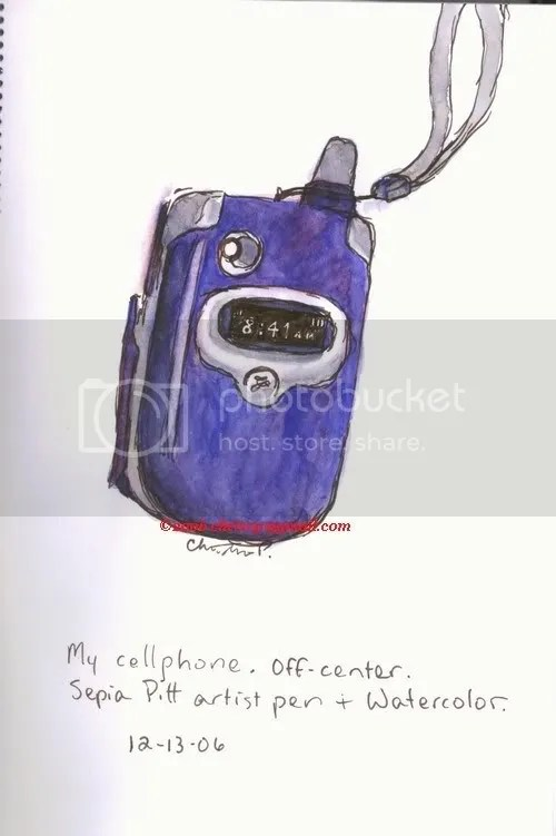 My cell phone