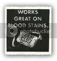 Works great on bloodstains...also gunpowder residue