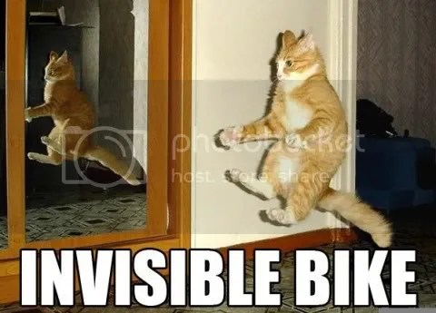 the invisible bike. Is that from Wonder Woman?