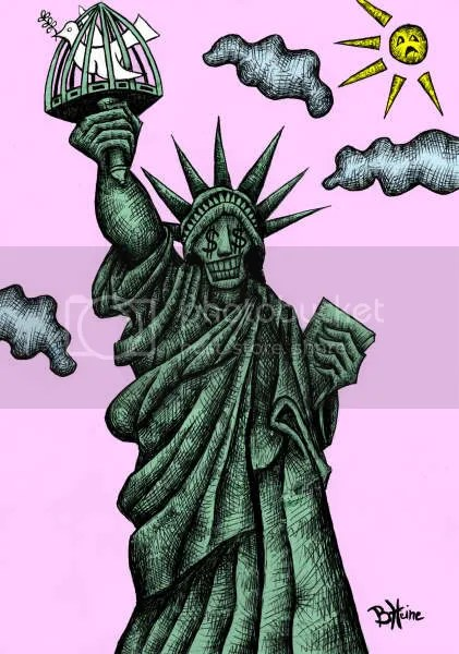 Lady Liberty, co-opted