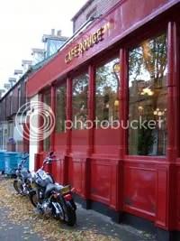 Kedai kopi merah