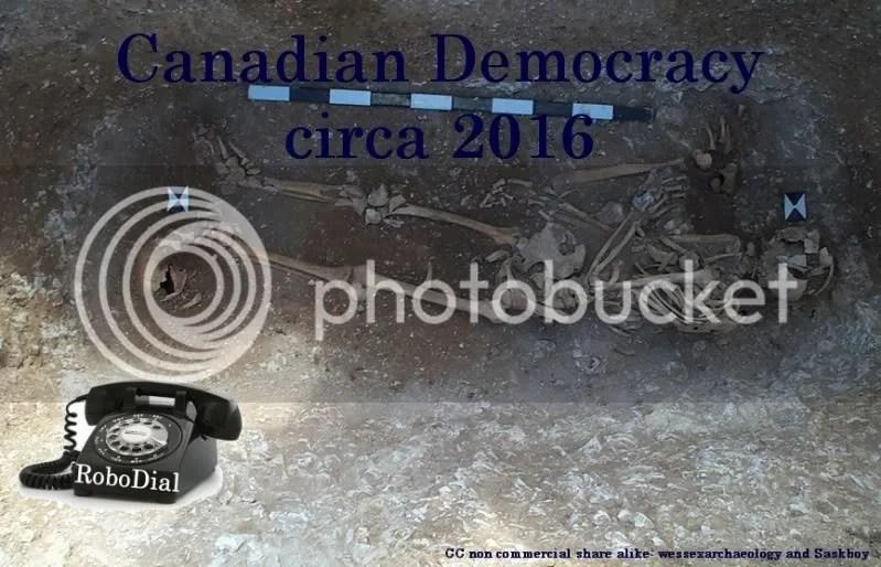 Democracy Beaten to Death by Phone, RoboCon