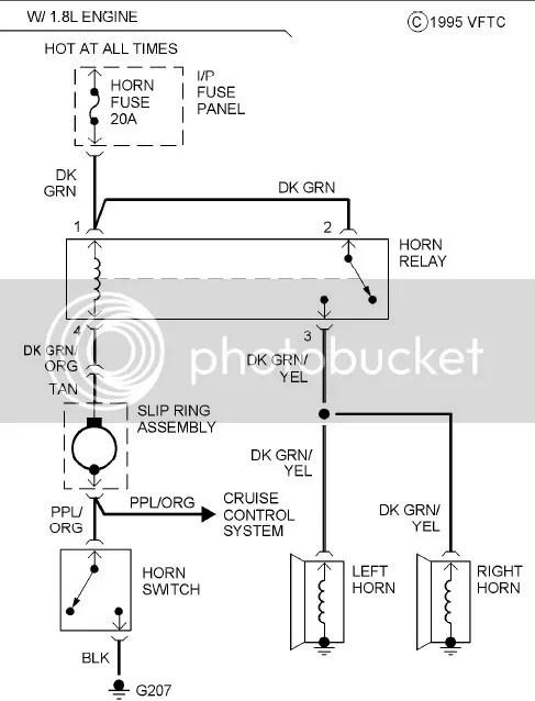 steering column wiring diagrams for 95 or 96 escort gt