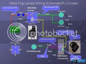 Fog Light  Driving Light Wiring Help  Toyota FJ Cruiser