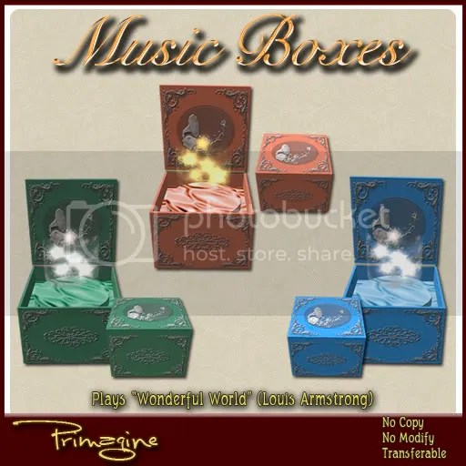 Primagine Music Boxes