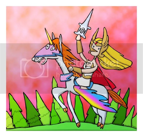 She-Ra on Swift Wind