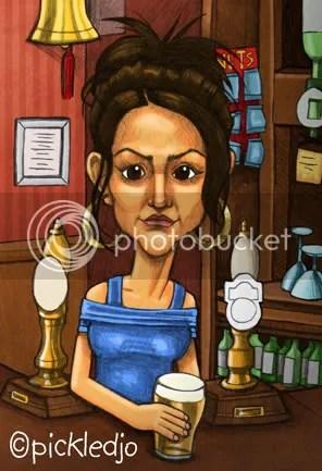 Michelle Keegan - Tina McIntyre, Corrie caricature