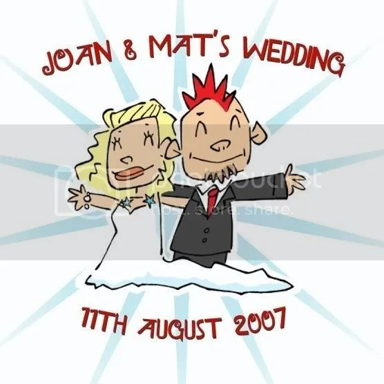 Joan & Mat's wedding