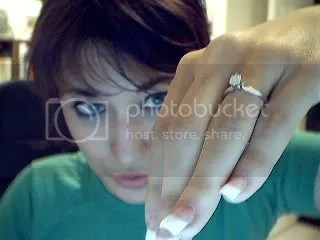 Jill and her ring!