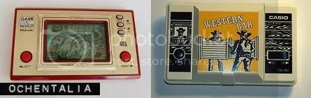 El 'Octopus' de Game&Watch, y el Western Bar de CASIO