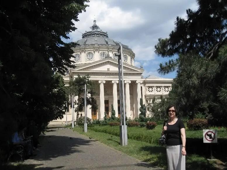 Mary Dejevsky at the Bucharest Atheneum