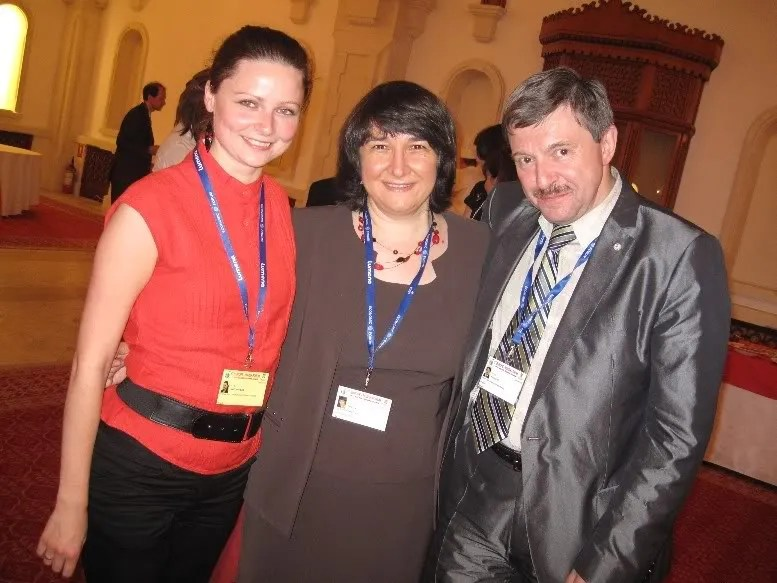 With Kinga Redlowska, the EU-Russia forums capable organizer, and Amnuel