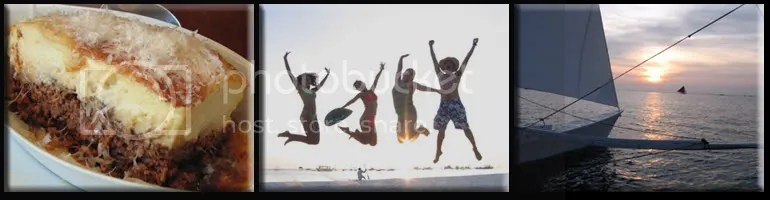 cyma greek cuisine | charmee jump | sailing during sunset