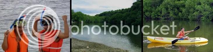 lake in an island