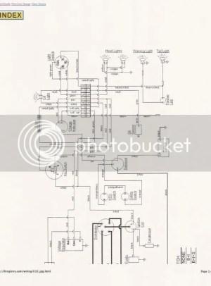 154 Lowboy wiring  Farmall Cub