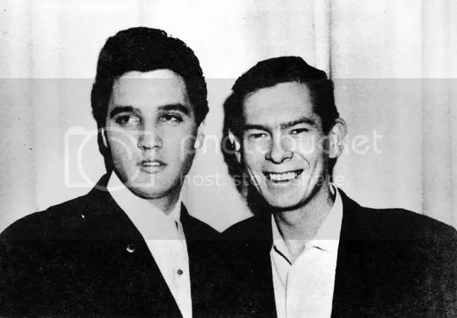 Image result for Elvis and Johnny Ray