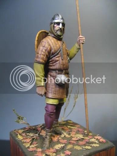 Norman Warrior Planetfigure Miniatures