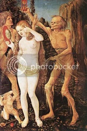 Les trois âges de la femme et la Mort - Hans Baldung