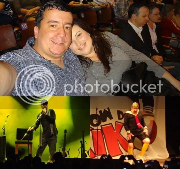 Shows do Zeca Baleiro e do Kiko