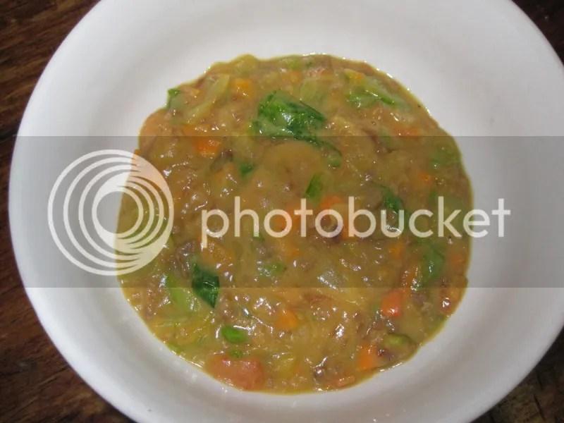 It's vegetable stew.