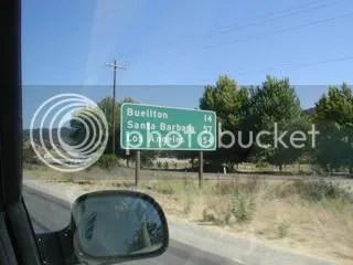 154 more miles to LA..