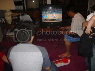 the boys playing ps2