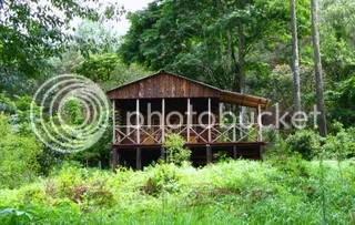 Trout farm cabin