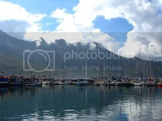 Boats in Hout Bay