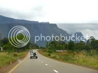Approaching the mountain