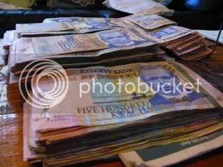 This is what 450,000 kwacha looks like