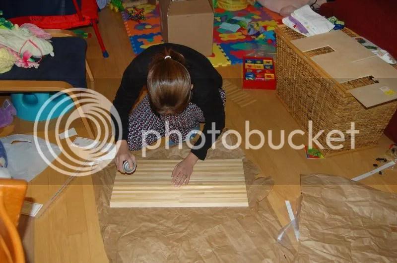 Installing wood flooring