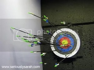 archery target small