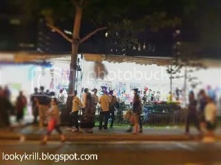 crowd at Geylang