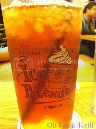 Iced Southern Blend tea