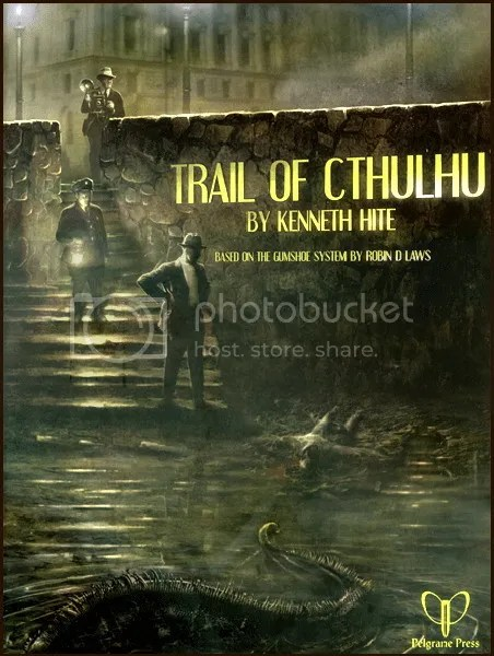 Trail of Cthulhu Core Book