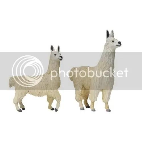 Lucas and Lisa - Noah's Ark llamas