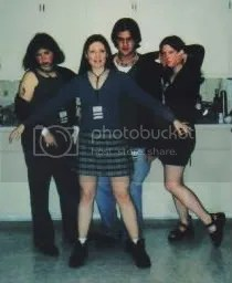 Mandi and co. as the cast of Empire Records.