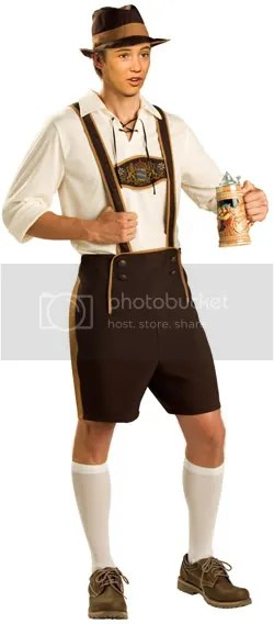 Wesley Crusher in Lederhosen