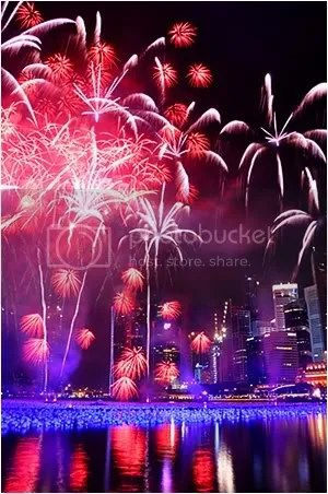 Marina Bay countdown
