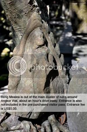 Beng Mealea statuette