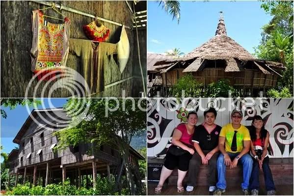 Different village housing