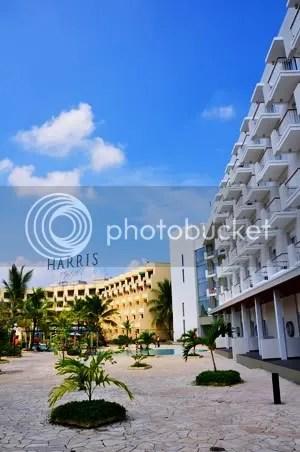 Harris Hotel Facade