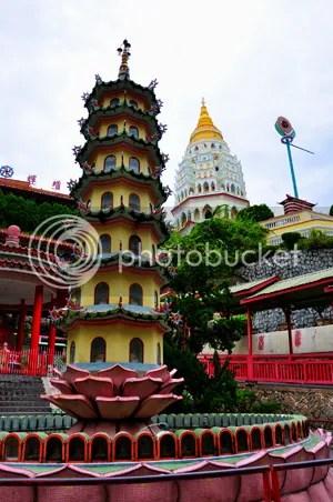 Kek Lok Si pagodas