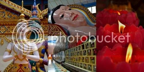 Wat Chaiyamangalaram collage