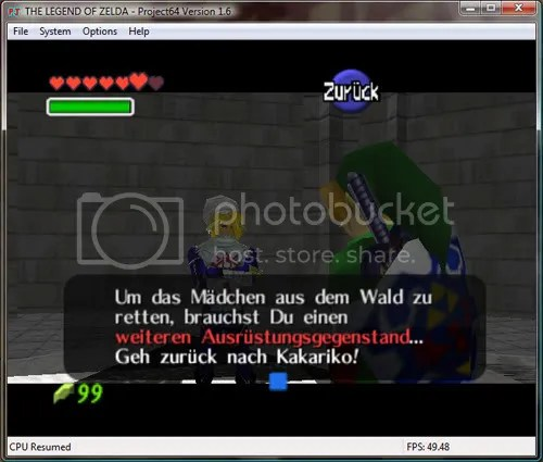 Zelda in German