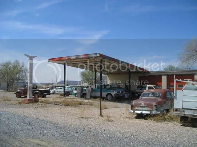 Abandoned Texaco station, Truxton Arizona