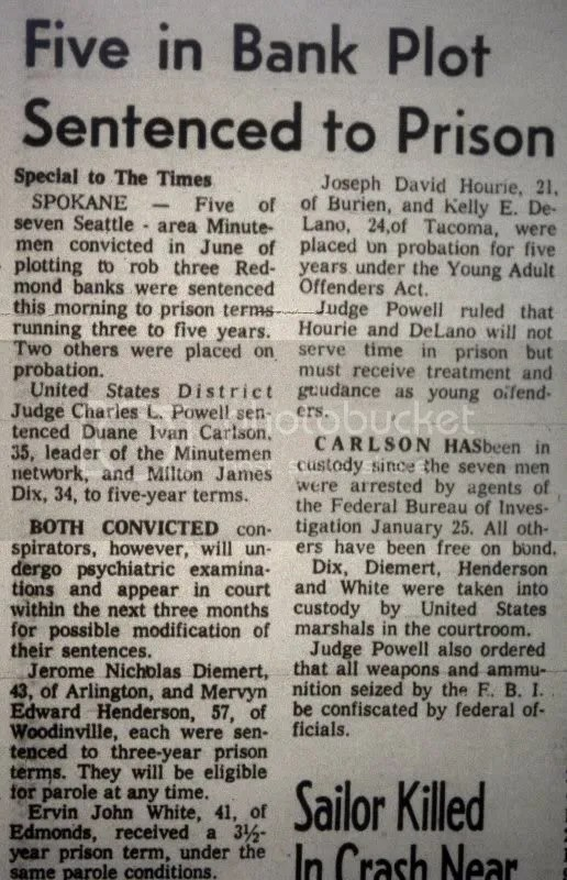 Seattle Times, August 2nd 1968, P. 2